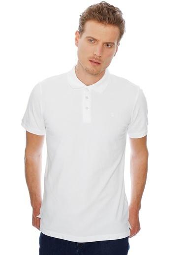 Limon Company Polo Yaka Tişört Beyaz